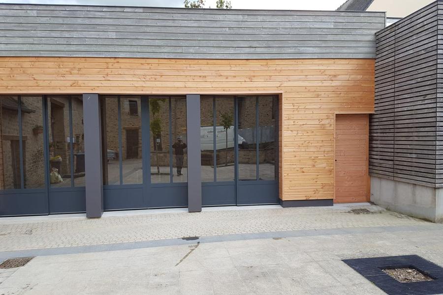 PROBOIS CONCEPT Menuisier Rennes Bardage Extension Bois 15