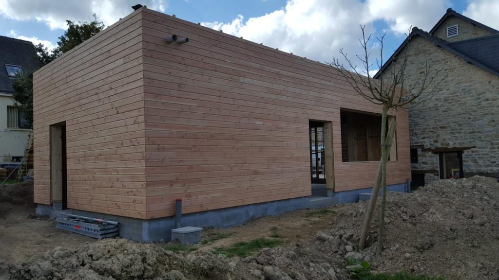 PROBOIS CONCEPT Menuisier Rennes Bardage Extension Bois 21
