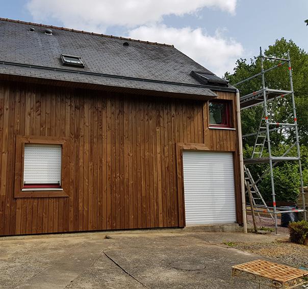 PROBOIS CONCEPT Menuisier Rennes Porte De Garage